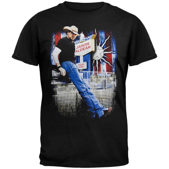 Jason Aldean - Standing Photo 2008 Tour T-Shirt