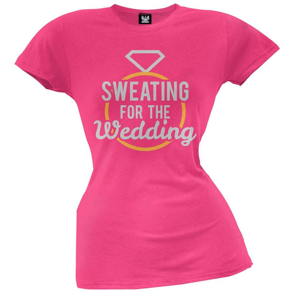 Sweating for the Wedding Juniors T-Shirt