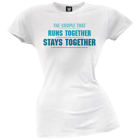 Run Together Juniors T-Shirt
