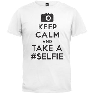 Keep Calm and Take a #SELFIE T-Shirt