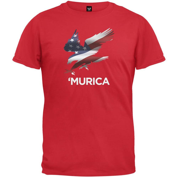 Murica Eagle Red T-Shirt