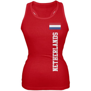 World Cup Netherlands Red Juniors Tank Top