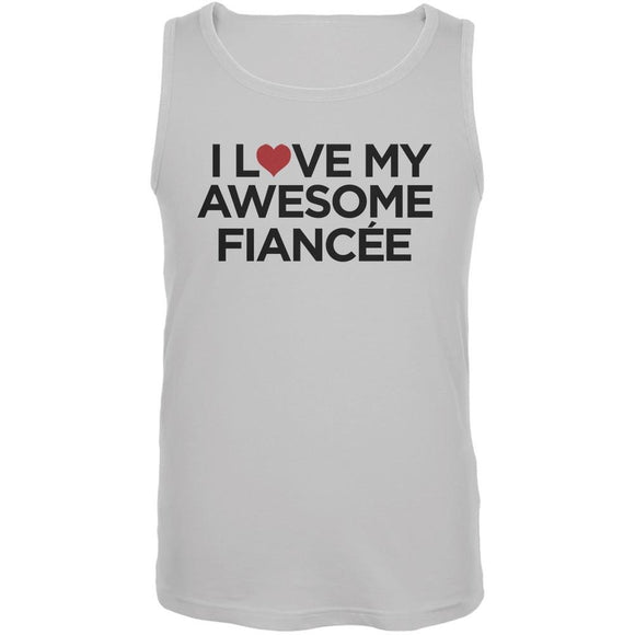 I Love My Awesome Fiance´e White Men's Tank Top