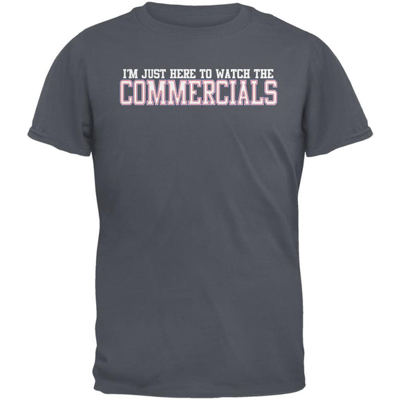 Big Game Commercial Charcoal Adult T-Shirt
