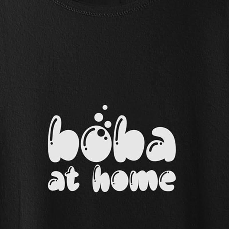 Boba at Home Graphic T-shirt