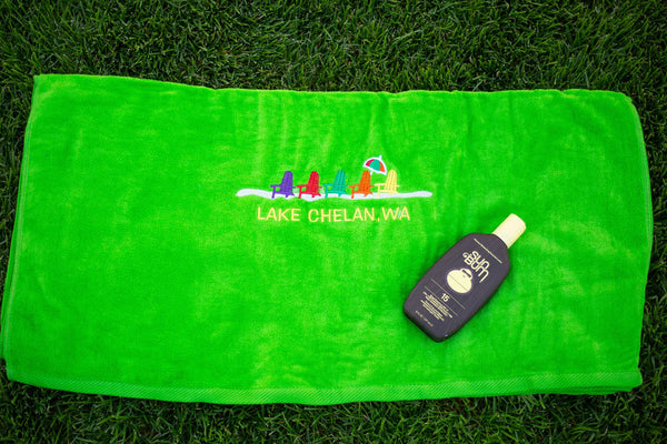 Lake Chelan Towel