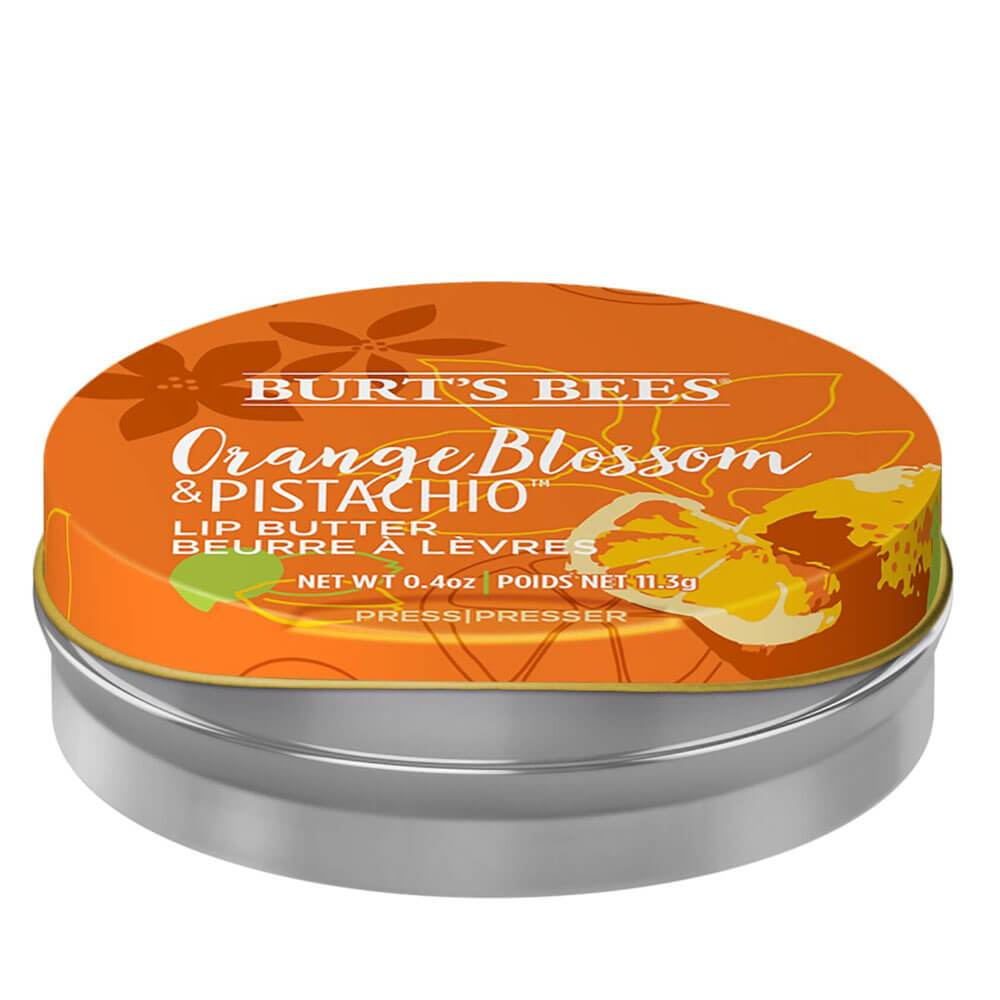 Burts Bees Orange Blossom And Pistachio Lip Butter Image 1