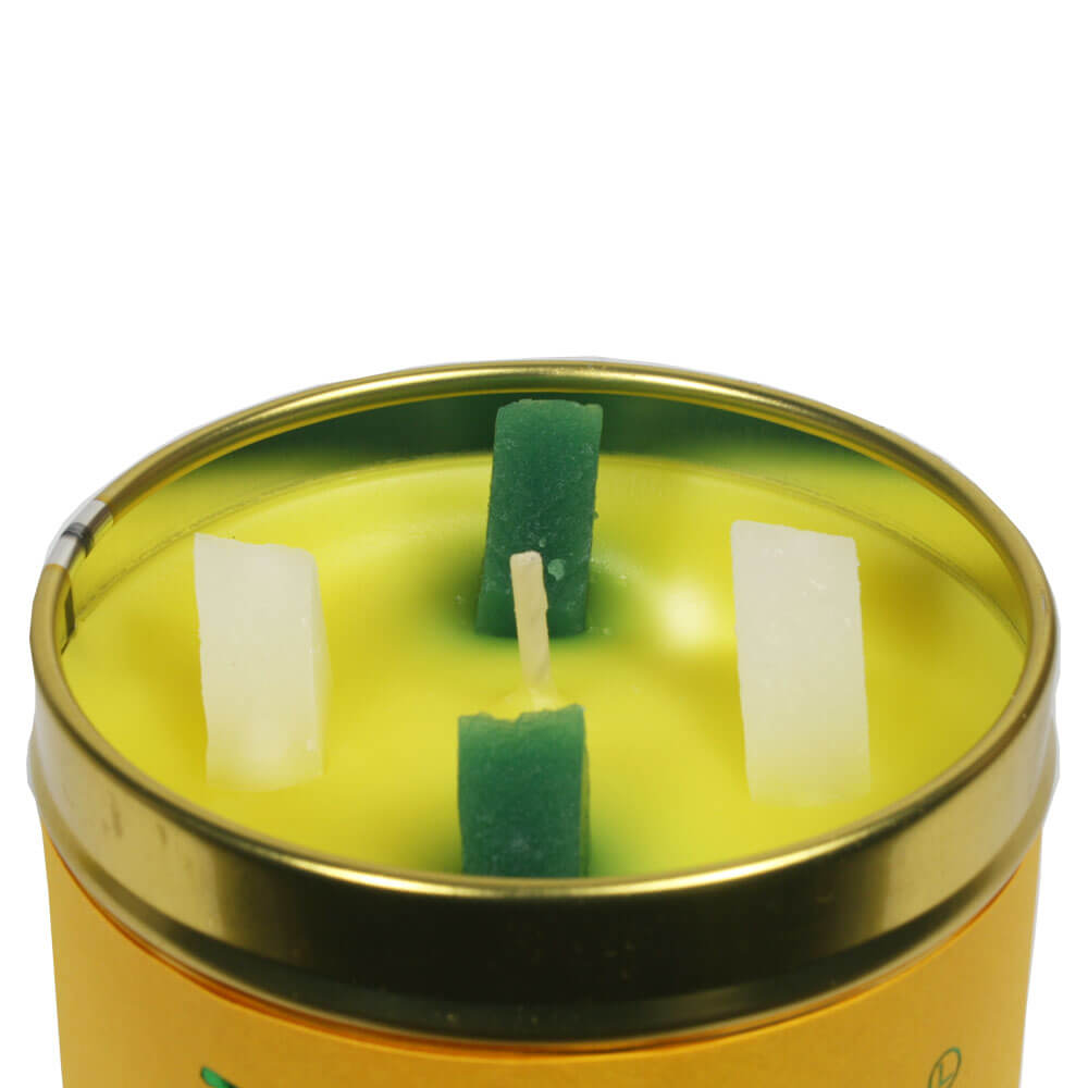 """Autumn and Winter Candle   """"Daffodils And Dandelions"""""""