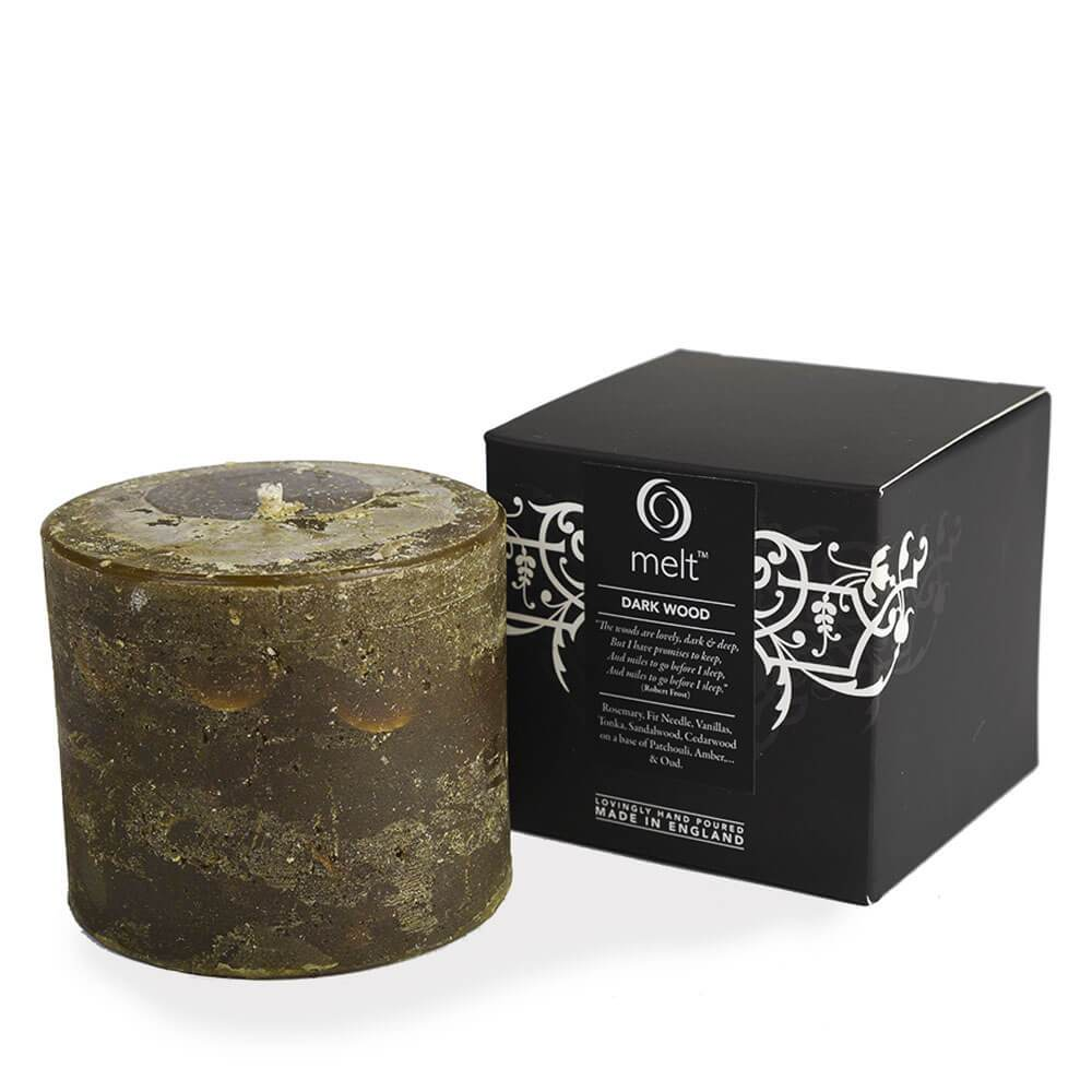 """Autumn and Winter Candle   """"Dark Wood"""""""