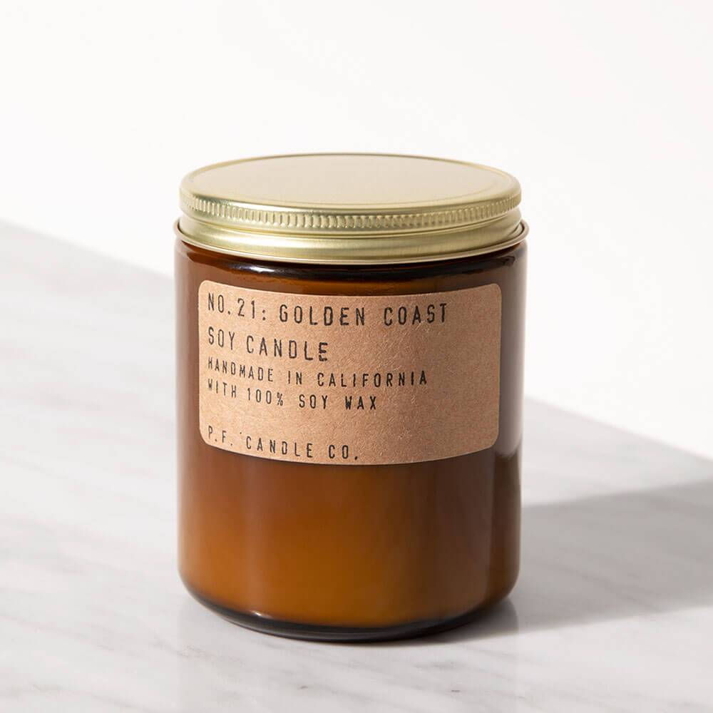 P.F. Candle Co. Golden Coast Standard Jar Candle Image 1