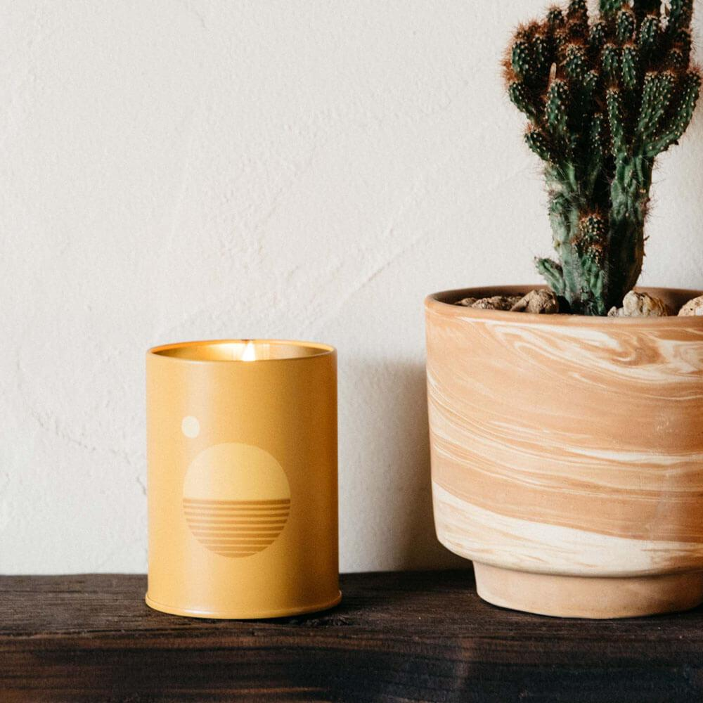 """Autumn and Winter Candle   """"Golden Hour"""""""
