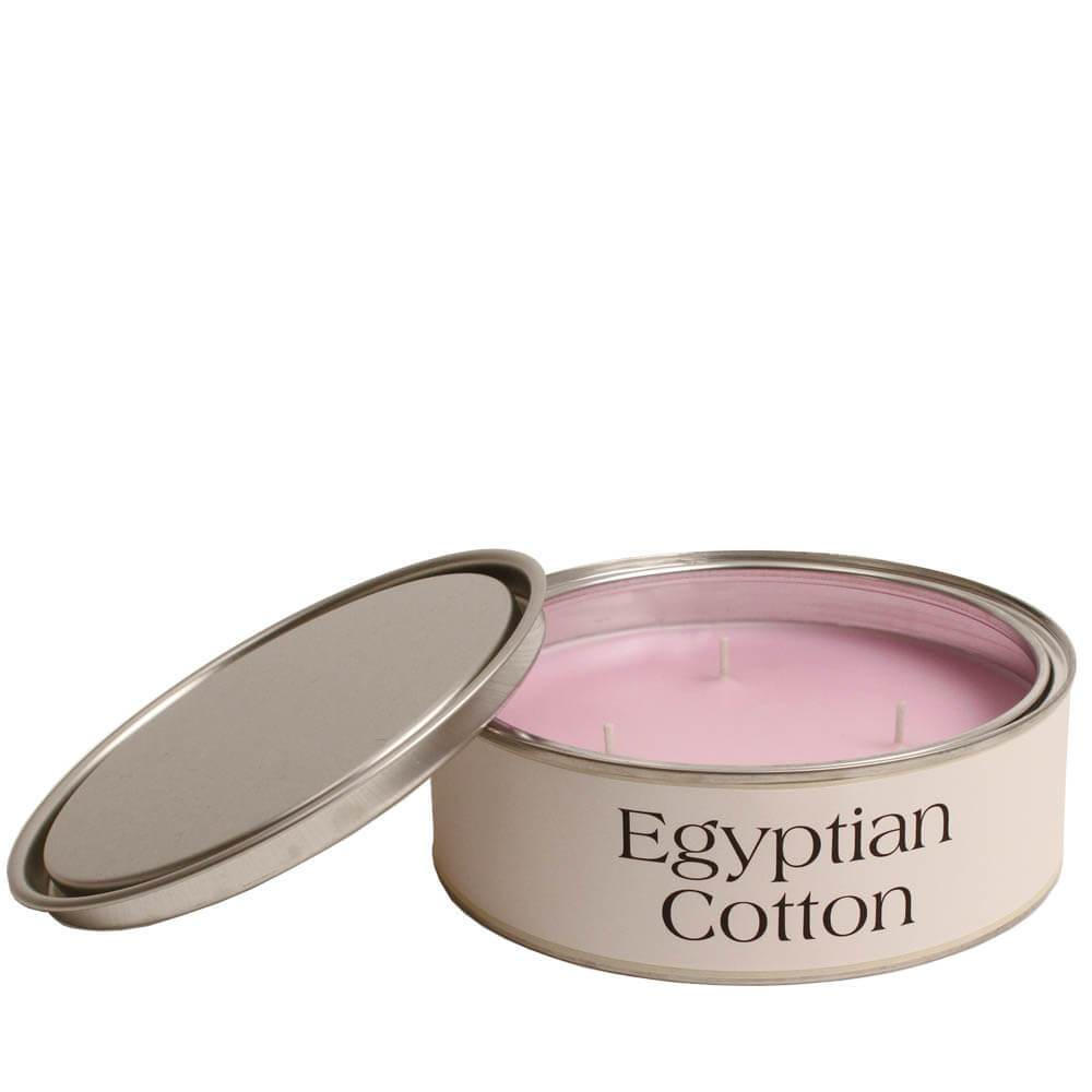 """Autumn and Winter Candle   """"Egyptian Cotton"""""""