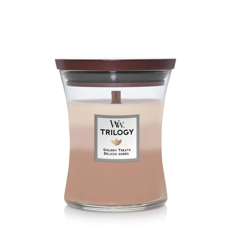 """Autumn and Winter Candle   """"Golden Treats"""""""