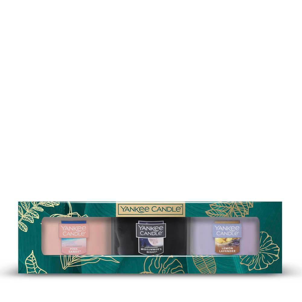 Yankee Candle The Last Paradise 3 Mini Candles Gift Set Image 1