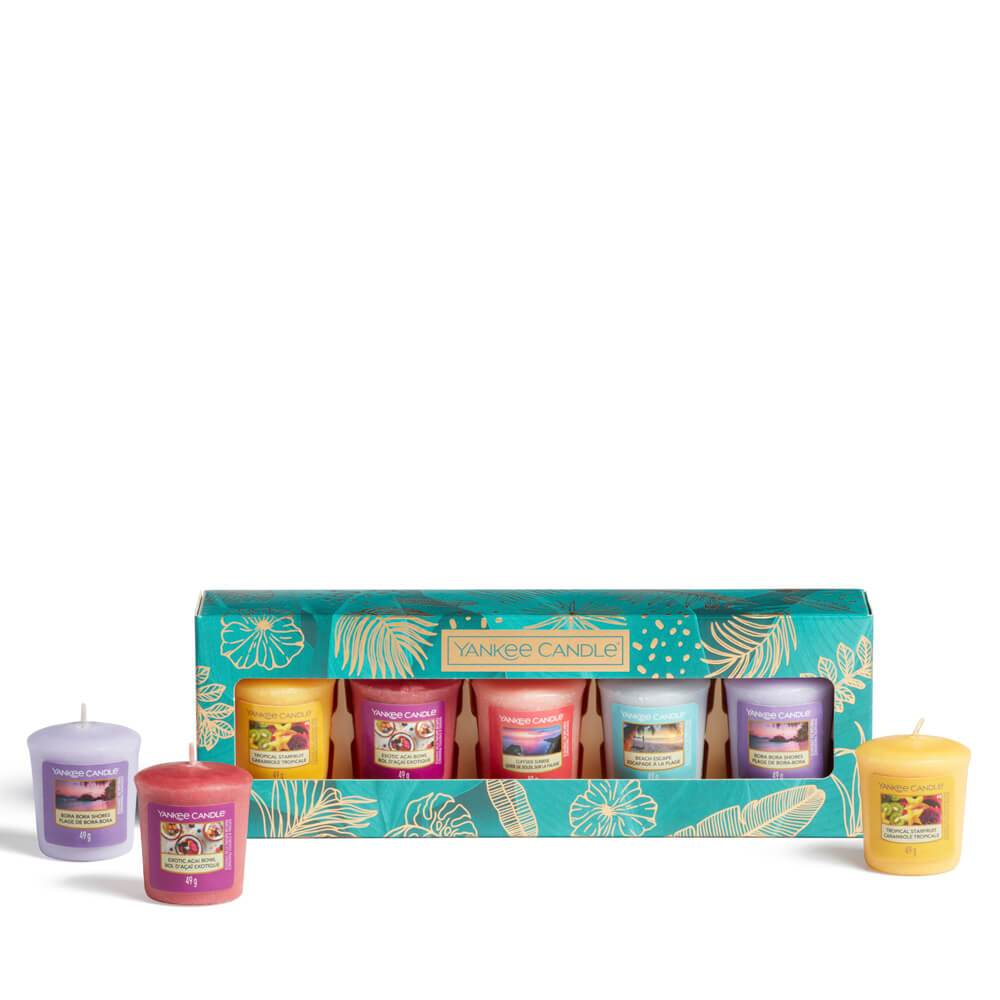 Yankee Candle The Last Paradise 5 Votive Candle Gift Set Image 1