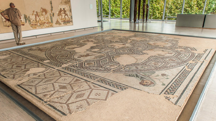 Mosaics of Saint Romain en Gal - In the Museum