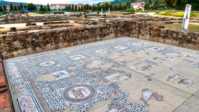 Mosaics of Saint Romain en Gal - The Dig