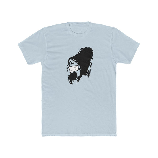 Amy Winehouse Masked Up Men's Cotton Tee