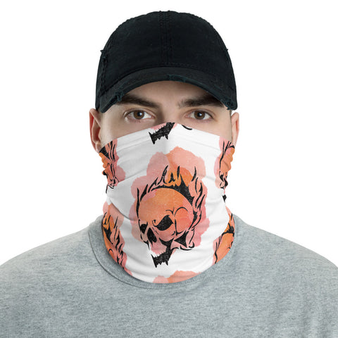 Flaming Skull Neck/Face Covering