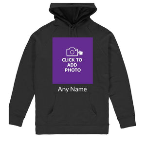 Unisex Hoodie - Own Photo Upload Design Option
