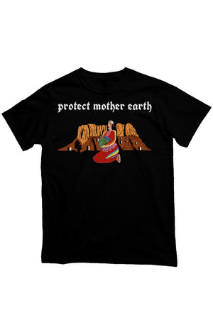 'Protect Mother Earth' Heavyweight T Shirt
