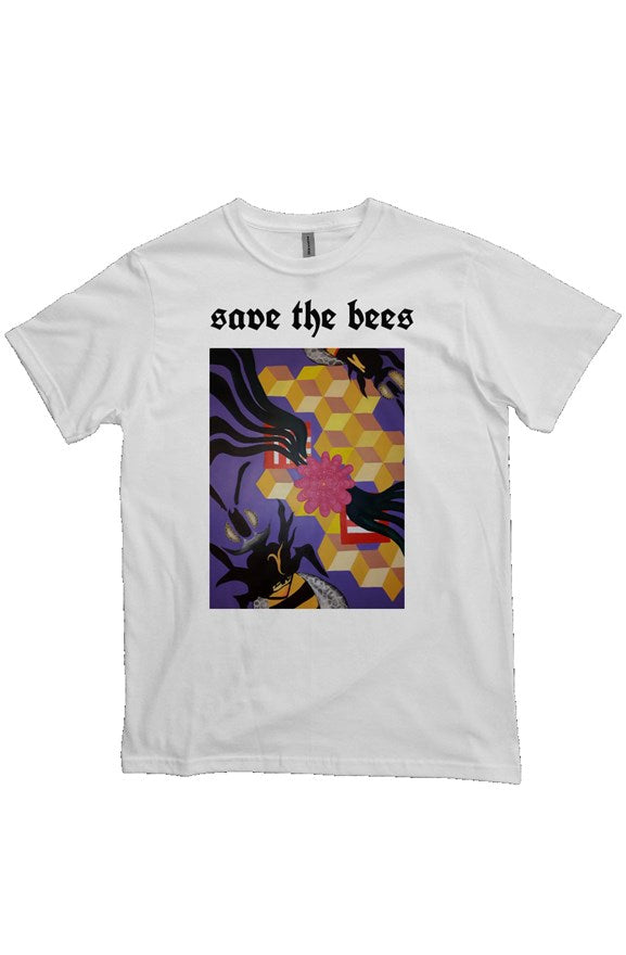 'Save the Bees' Heavyweight T Shirt