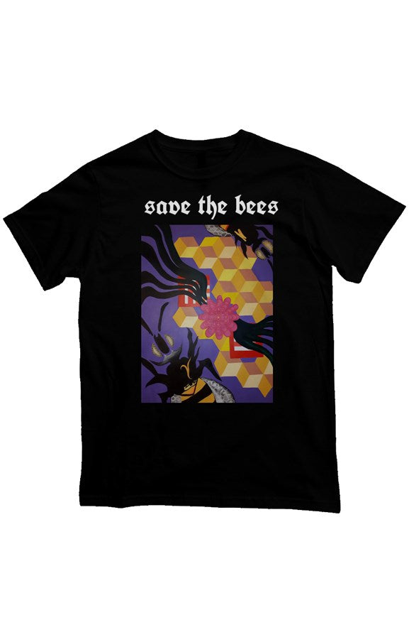 'Save the Bees'Heavyweight T Shirt