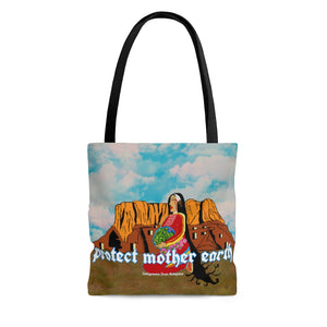 Open image in slideshow, 'Protect Mother Earth' Tote Bag