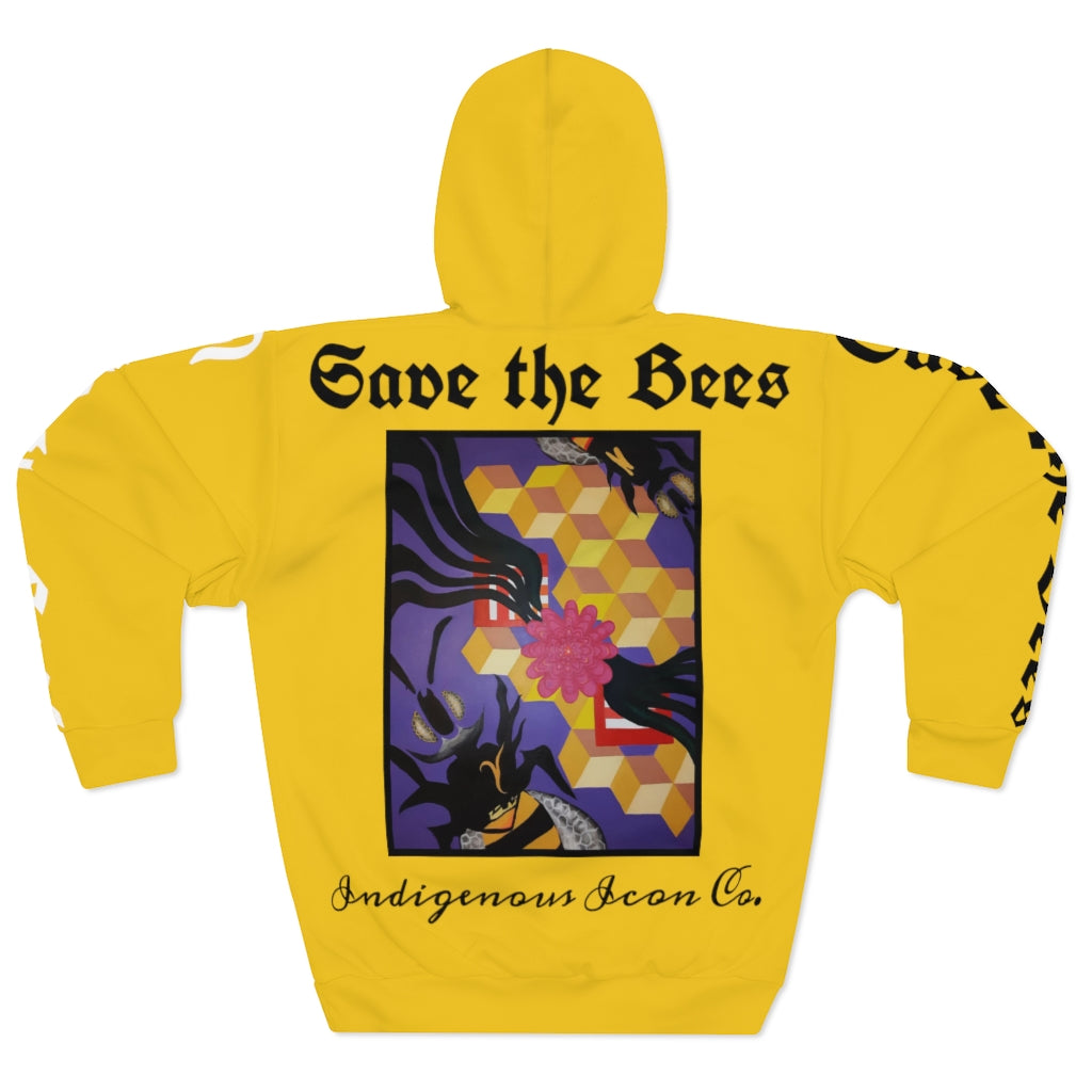 'Save The Bees' Pullover Hoodie