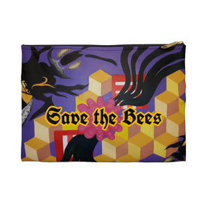 Open image in slideshow, 'Save The Bees' Accessory Pouch