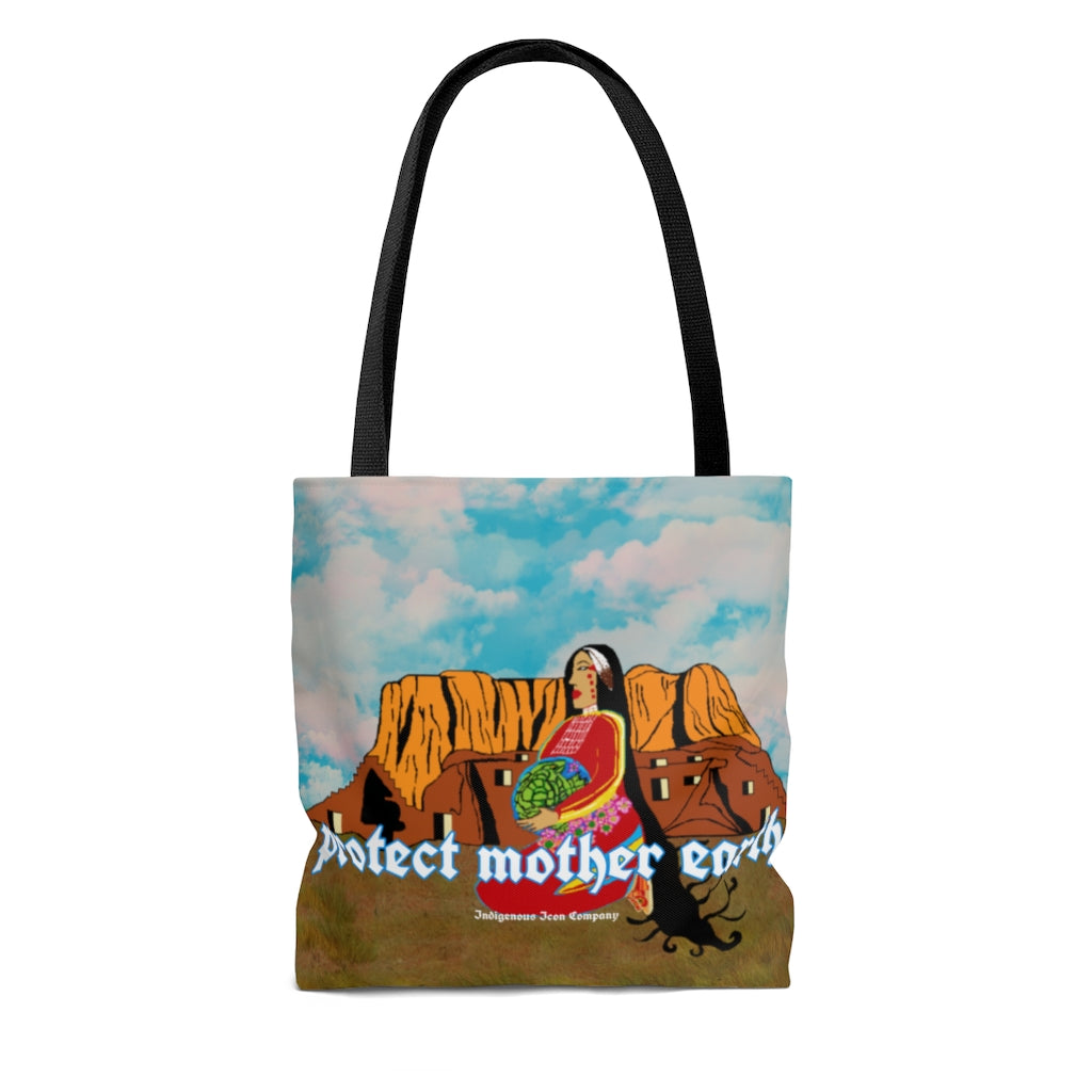'Protect Mother Earth' Tote Bag