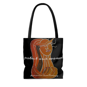 'Protect Our Women' Tote Bag