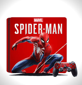Skin Consola PS4 Spider-Man