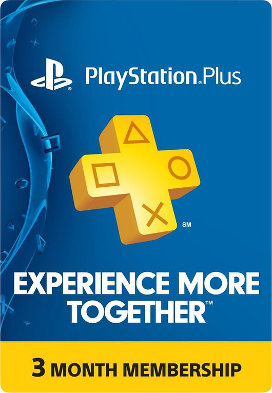 PlayStation PS PLUS 3 meses (USA)