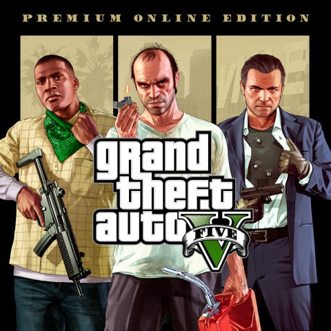 Grand Theft Auto V GTA Premium Online PC