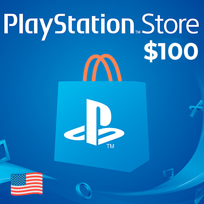 PlayStation PSN card $100 USA