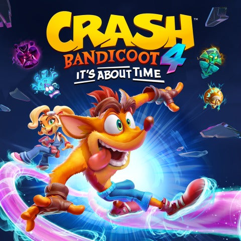 Crash Bandicoot 4: It's About Time PS4 (Digital)