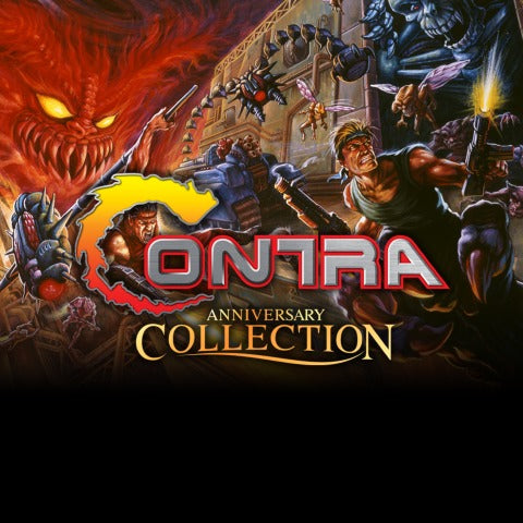 Contra Anniversary Collection PS4