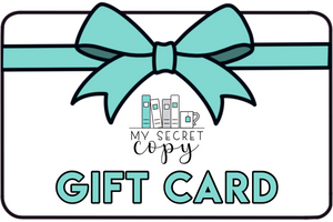 My Secret Copy Gift Card