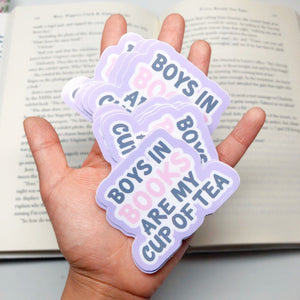 Book Boyfriend Sticker