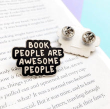 Load image into Gallery viewer, Book People Enamel Pin