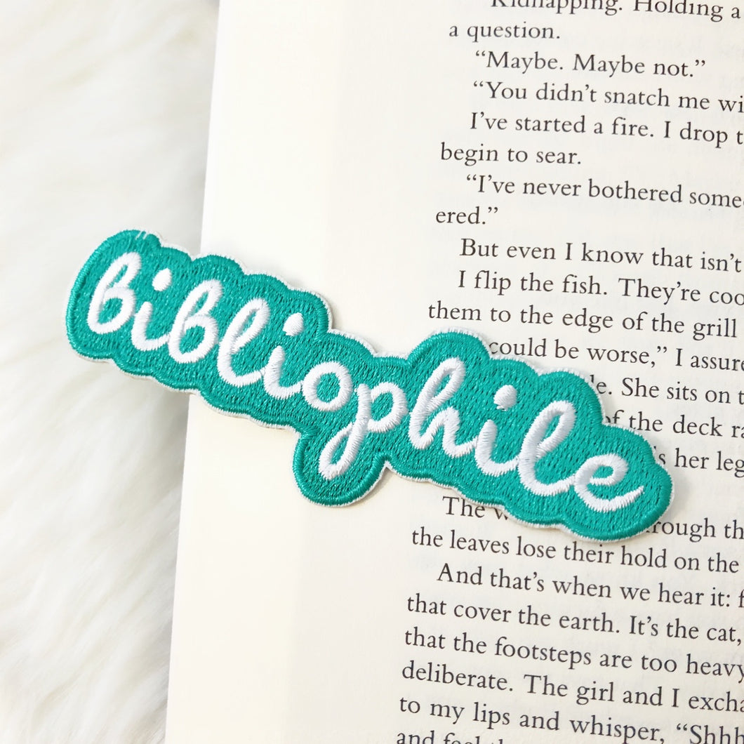 Bibliophile Iron on Patch