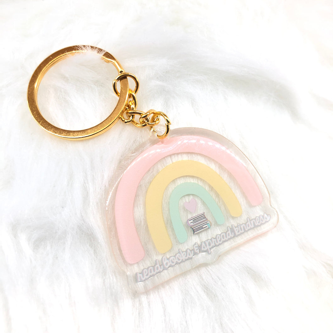 Read Book and Spread Kindness Keychain