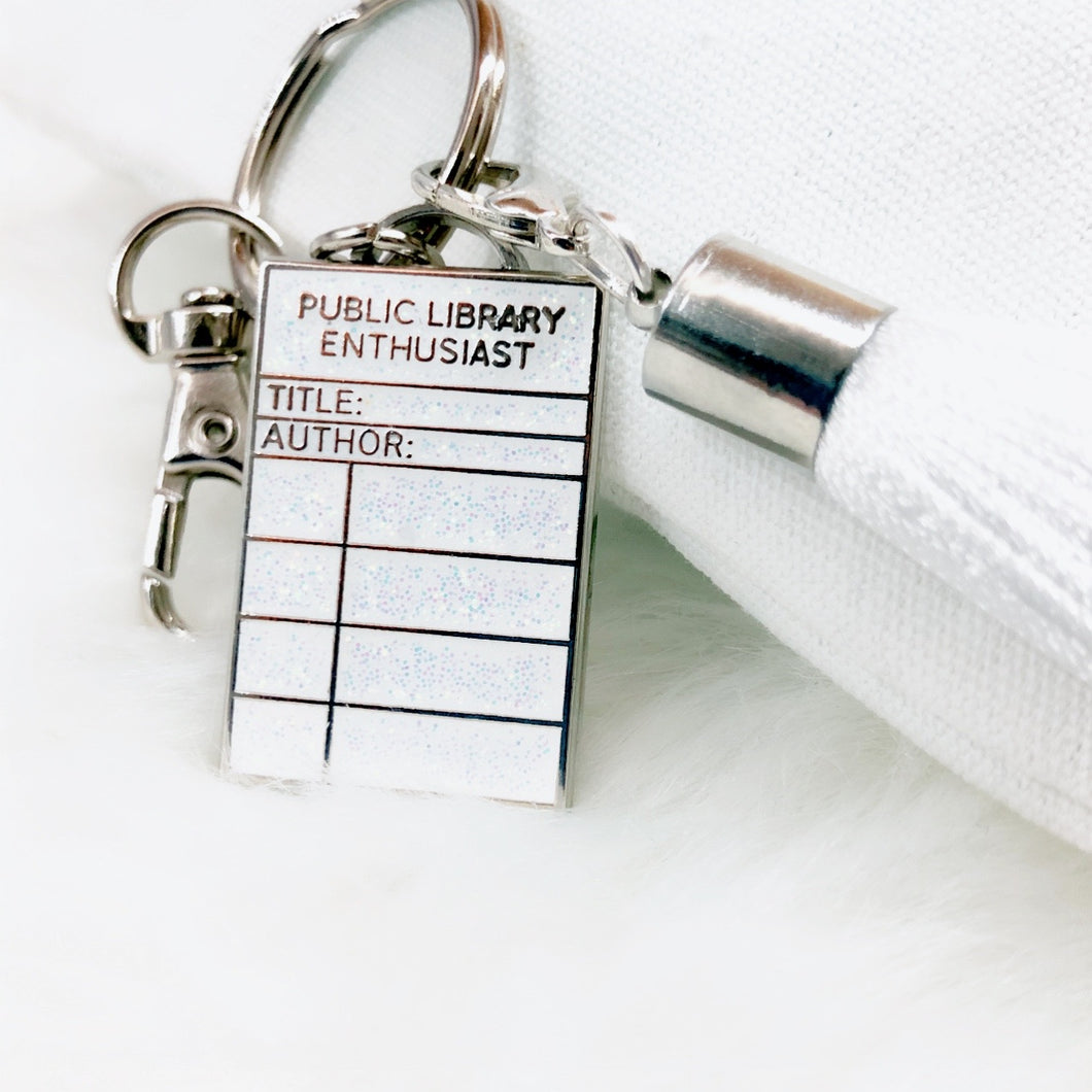 Library Enthusiast Keychain