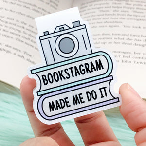 Bookstagram Made Me Do It Bookmark