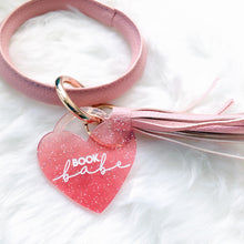 Load image into Gallery viewer, Book Babe Keychain Bangle
