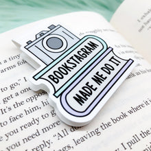 Load image into Gallery viewer, Bookstagram Made Me Do It Bookmark
