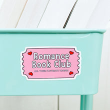 Load image into Gallery viewer, Romance Book Club Book Cart Magnet
