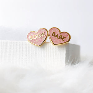 Book Babe Earrings