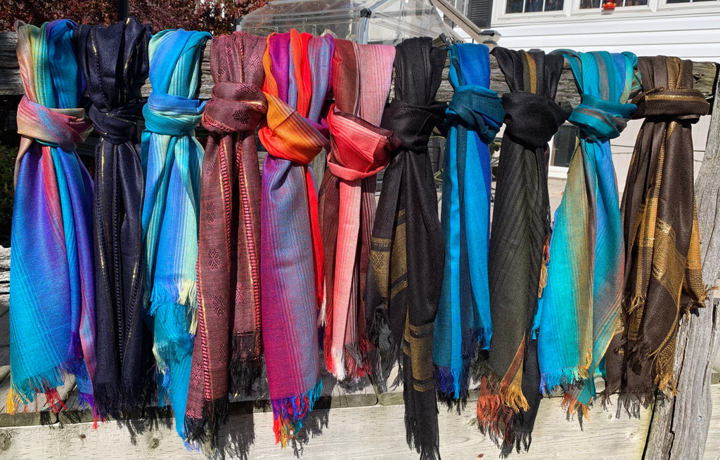 Handwoven Cotton Scarves